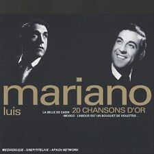 LUIS MARIANO - 20 CHANSONS D'OR (NEW CD)
