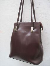 -AUTHENTIQUE sac à main    LANCASTER cuir TBEG vintage bag