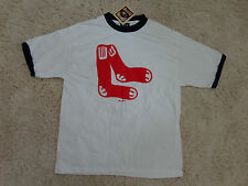 Boston Red Sox Cooperstown Ringer T-Shirt by Majestic   ( L )