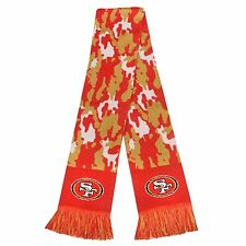 "San Francisco 49ers Scarf Knit Winter Neck NEW 65"" - CAMOUFLAGE Camo - 2013"
