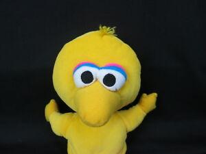 "SESAME STREET APPLAUSE BIG BIRD YELLOW JIM HENSON PLUSH STUFFED ANIMAL 12"""