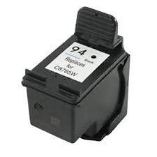 Remanufactured Ink Cartrtidge for HP 94 Black C8765WN for Deskjet 460c 460cb
