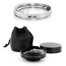 Baby Death 37mm 0.3x Ultra Fisheye Lens + UV Filter for Digital Video Camcorder