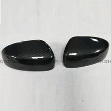 Real Carbon Fiber Car Door Side Mirror Cover For INFINITI G25 G37 Q40 Q60 09-15