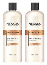 New NEXXUS 2 pc Oil Infinite Frizz Defying Conditioner Babassu & Marula Oil 25oz