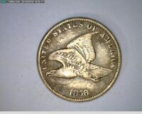 1858 Flying Eagle Cent Penny ( 23-303 9m/o )