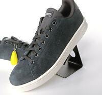 adidas Linear Advantage Sneaker Herren Turnschuh Tennis Schwarz Weiß F36448 SALE