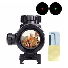 Holographic Tactical Dot Laser Sight Scope Rifle Mount Picatinny Sport Red/Green