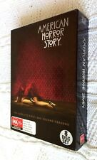 AMERICAN HORROR STORY- THE COMPLETE  SEASON 1 AND 2 - DVD, 8-DISC BOX SET, R-4