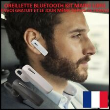 MINI OREILLETTE BLUETOOTH ÉCOUTEUR KIT MAINS LIBRE TELEPHONE UNIVERSEL DISCRETE
