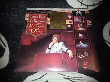 Dame Kiri Te Kanawa My World of Opera Laserdisc LD Free Ship $30 Orders