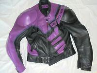 Hein Gericke Herren Biker Motorrad Jacke Lederjacke Mens Leather Gr 48 50 S