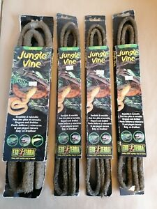 4 X Exo Terra Jungle Vines,1 Large 3 Fine