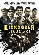 KICKBOXER: VENGEANCE DVD - JEAN-CLAUDE VAN DAMME - GINA CARANO