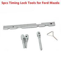 5pcs Engine Timing Lock Tools Kit Camshaft Cam for Ford Mazda Fiesta Volvo Puma