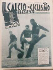 Football Illustrated N 52 1957 Italy Portugal ROME MILAN JUVE INTER Toro