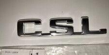 Original BMW E9 CSL Emblem Hinten Heckklappe Zeichen OEM 51141823114