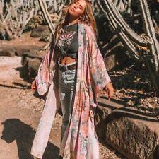 Spell & The Gypsy Collective Lily Maxi Kimono Lilac Size M/L