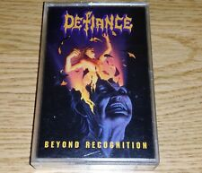 Defiance-Beyond Recognition 1992 Cassette SLAYER POSSESSED DARK ANGEL MEGADETH