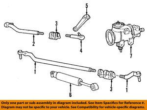 FORD OEM 99-06 F-250 Super Duty Steering Gear-Inner Tie Rod End AC3Z3A131N