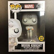 Funko POP Marvel Moon Knight Glows in the Dark Comikaze Mint Box
