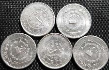 NEPAL (VS2031) AD1974 50 Paisa Coin,UNC Dia 22mm 5pcs(+FREE 1 coin)#D3898