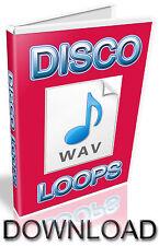 DISCO WAV LOOPS - FL STUDIO- CUBASE- PRO TOOLS - LOGIC - ABLETON - KONTAKT