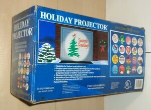 MR. CHRISTMAS ~ Holiday Motion Projector Complete W/ Box And 20 Slides