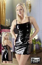 Black Level Lack Minikleid schwarz S   M   L   XL Damen Party- & Minikleid