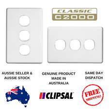 Cover Plate to suit Clipsal Classic 3 Gang Switch C2033VA / VH