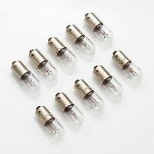 10 x 12V 100mA 0,1A 1,2W BA9s / Birne Lampe / Lamp Bulb / Bajonett Skalenlampen