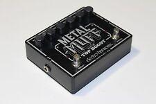 Electro Harmonix Metal Muff Top Boost Distortion Guitar Pedal WORLDWIDE SHIPPING