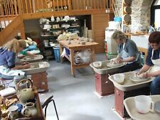 Potters wheel weekend course January 2018 with 4 star inhouse accommodation