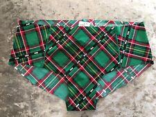 NEW Genuine PINK Victoria's Secret Panties Tartan Hipster Size M UK 10-12