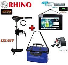 NEW Rhino DX68V PWM + 12V 80Ah Lithium LiFePO4 Akku + Ladegerät + Akku-Tasche