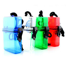Outdoor Camping Plastic Waterproof Storage Box Case for Key Money  phone