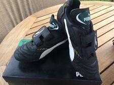 Puma NON TIE Outdoor Soccer Cleats Phantom Top Black/White  NIB Childs SZ 4 1/2