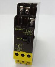 Eberle sba-1 temporisé Time Relay Timer 15-300 S 230 V ~ 24vuc 1 W 054510145490