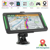 2019 7 Inch Truck Car GPS Navigation System 8GB LGV SAT NAV Free UK EU Map