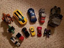 Transformer Action Figure Lot Hasbro 12 Used Good Condition