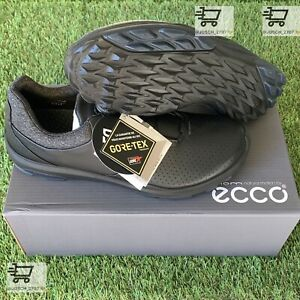 Ecco Biom BOA Hybrid 3 H3 GTX GORE TEX Black Golf Shoe Sneaker ⛳️ EU 43 US 9 .5