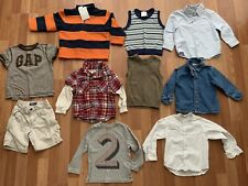 Lot Boys Baby Toddler Clothes Fall Winter Dress Shirts Vest L/S Tops 2T 24m