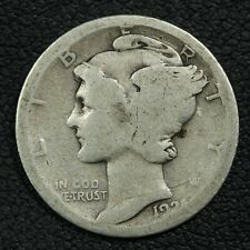 New listing 1921 D Mercury Silver Dime - Reverse Damage