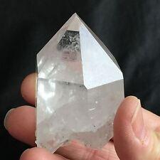 C53  Arkansas Quartz Crystal DT ET Lemurian - Rare Double Goddess Isis