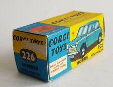 Corgi Toys No. 226, Morris Mini-Minor, Empty Box - Superb Near Mint.