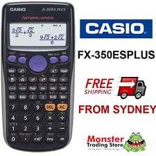 AUSSIE SELLER  CASIO SCIENTIFIC CALCULATOR FX-350 FX350 FX-350ESPLUS WARRANTY