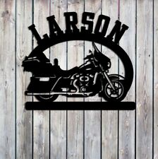 Motorcycle Name  Sign Custom Metal Sign  Outdoor Metal Art 23x20 USA
