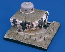 Verlinden 1/35 German Heavy Machine Gun Bunker with Cloche WWII [Diorama] 1642