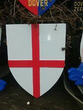 More details for plaque england st george made in cast aluminium for dover town (who never paid!)