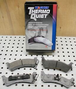 Wagner MX666 / PD666 ThermoQuiet Organic Disc Brake Pads REAR for JEEP TJ 97, 98